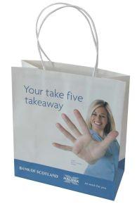 Sacchi di carta del regalo stampati marchio su ordinazione per acquisto (FLP-9024)
