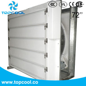 Sistema di raffreddamento dello stabilimento lattiero-caseario del ventilatore di scarico di qualità superiore 72