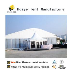 Estrutura de alumínio grande Festival de forma Arcum tenda de eventos