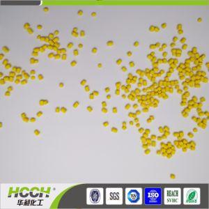 Masterbatch de plástico amarillo para los zapatos de goma
