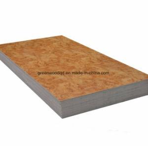 De fabriek levert 1220X2440mm de Marmeren Bladen van pvc
