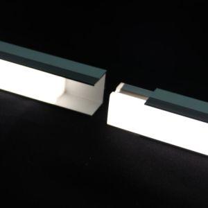Espulsione di alluminio resistente di profilo di 3 tonnellate LED di profili di alluminio di T8-T10 6063 che congiunge senza nerezza per illuminazione lineare esterna del LED