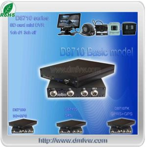deviazione standard Card Mobile Vehicle DVR di 4CH 3G GPS per Car Bus Truck Taxi
