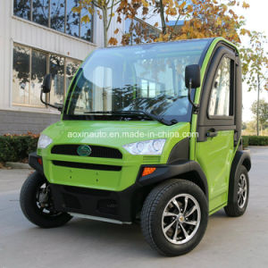 Un coche eléctrico de la calle6 2 plazas