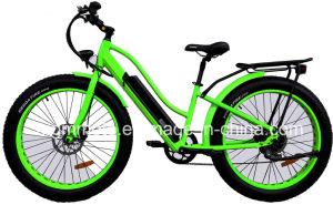 Harley 뚱뚱한 타이어 500W 산 전기 자전거