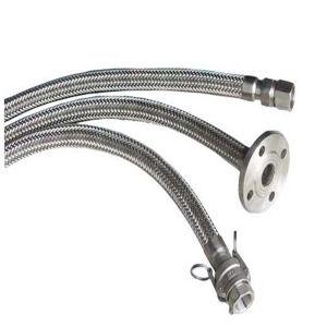 6 pollici Cloro-Trasferiscono il tubo flessibile metallico flessibile ondulato dell'acciaio inossidabile