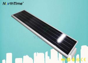 Jardín de luz de alta eficiencia de las luces de calle Solar con la cámara