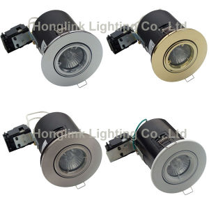 3With5With7W Aluminum GU10 Tilt Fire Rated LED Recessed Downlight