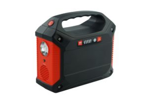rifornimento ricaricabile portatile di potenza della batteria del litio del generatore solare 100W