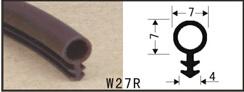 Прокладку на двери и окна W27R