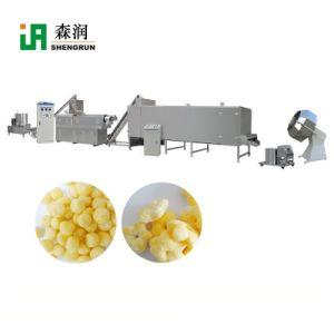 Bocadillo de queso de maíz de soplado automática de la extrusora de alimentos equipo