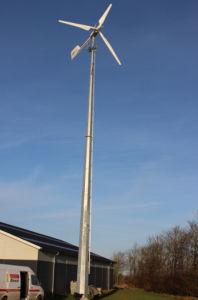 Qingdao Ane 10kw elevada saída pequeno gerador de energia eólica com o ISO MARCAÇÃO