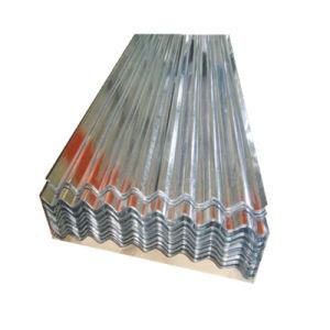 24 Jauge Gi recouvert de zinc tuile en acier ondulé