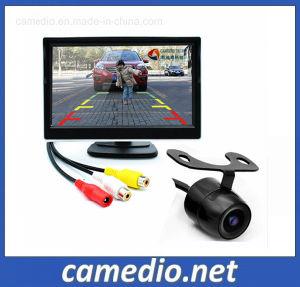 5 TFT LCD Monitor de pantalla de espejo retrovisor de copia de seguridad + Cámara