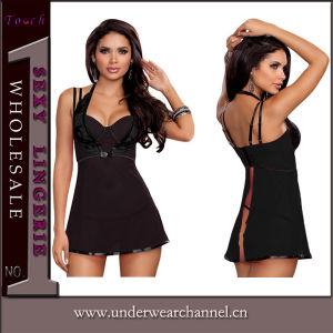 Commerce de gros Lady Underwear Nightwear Nuisette nuisette sexy (33001)