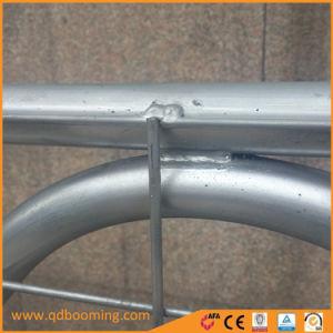 Cancelli d'acciaio galvanizzati del reticolato di saldatura dell'azienda agricola