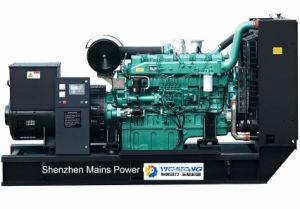 400kVA 320kw Yuchai 침묵하는 디젤 엔진 발전기 방음 유형 450kVA