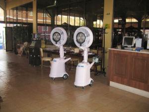 Preço barato tipo centrífuga comercial ventilador Ventilador de névoa de óleo