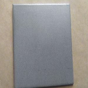 Chapa de Papelão Ondulado de titânio poroso, eléctrodo da Placa de filtro de metal a venda directa de fábrica