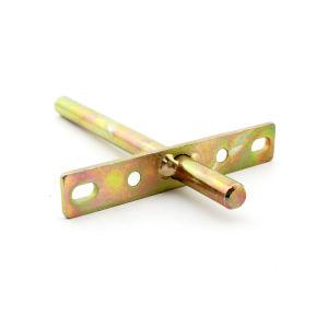 Crus Croix pièce d'estampage en métal pour le matériel de construction en acier zingué de couleur