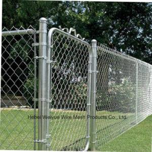 Rete fissa del ferro galvanizzata metallo della rete metallica di obbligazione della rete fissa di collegamento Chain
