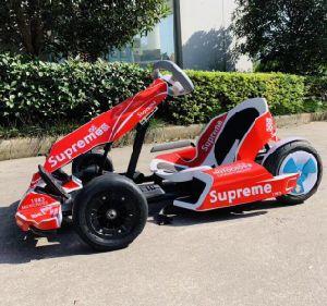 De Autoped Vouwbare Elektrische gaan-Kart die van het Saldo van de Batterij van het vermaak 52V/36V 8ah Karting rennen gaat Kostuum Karts voor Volwassene