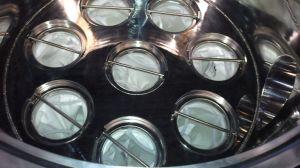 Alloggiamento personalizzato del filtro a sacco del depuratore di acqua dell'acciaio inossidabile multi