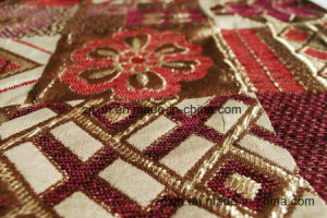 Patrón clásico Sofá chenilla tapicería de tela (Fürth31142)