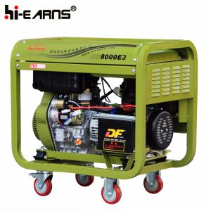 Tipo di blocco per grafici aperto raffreddato ad aria generatore diesel (DG8000E3)