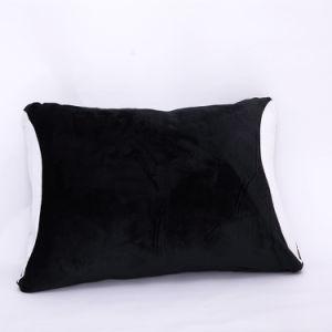 2 Pack 100% poliéster Multicolor resistente al polvo tapa blanda almohada