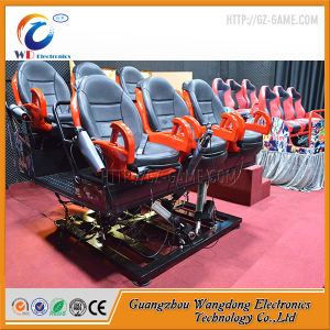 Дешевые гидравлический 9 мест 5D кинотеатр с Wangdong