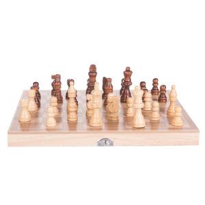 خشبيّة سفر شطرنج مجموعة [بكغمّون بوأرد غم] أطفال لعب تربويّ