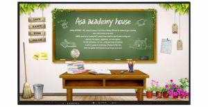 65 de Knappe Aanraking van de duim allen in Één Interactieve Whiteboard voor het Onderwijs en Presentatie