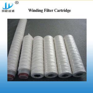 Enroulement du filtre à joint torique en silicone Micron cartouche de filtre plissé pour connecter les raccords rapides de l'eau