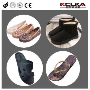 EVA Mousse de plastique sandale Inejction des chaussures à semelle de la machine de moulage