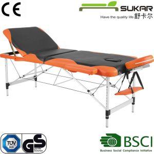 Sección 3 de aluminio Camilla de masaje plegables Camilla de masaje / Mini