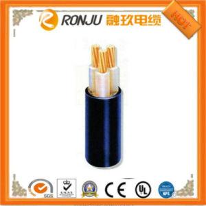 6 / 10 кв 3 Core медный проводник XLPE короткого замыкания полихлорвиниловая оболочка кабеля питания