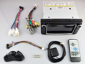 Tela de Toque do Windows Witson aluguer de DVD para a Toyota Corolla RAV4