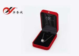 أحمر مخمل [جولري بوإكس]/يعبّئ صندوق/[بكج كس] لأنّ مجوهرات عرض محدّد