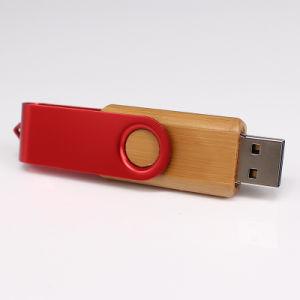 Основная часть жесткие диски USB продажи поворотный из дерева и металла флэш-накопитель USB 8 ГБ с USB Memory Stick™ с Логотип для печати подарок для продвижения