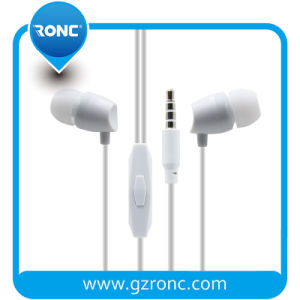 Aux de 3,5 mm para fone de ouvido intra-auriculares Samsung MP3 MP4 com telecomando e microfone