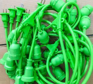 Cable de extensión de la luz de la cadena con la aprobación de UL, cUL