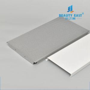 China Wholesale Calidad High-Tech perforación color metálico Panel del techo metálico de aluminio