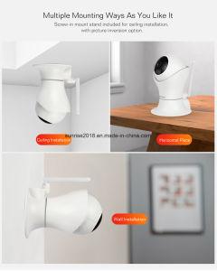 ロボットWiFiの無線機密保護PTZのビデオドアのSurveillancceのカメラ