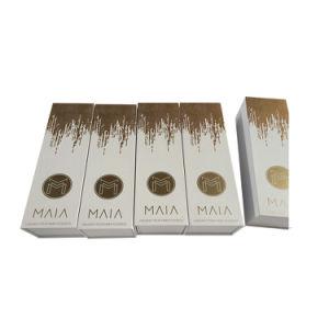 Matt Logotipo Laminado Lanterna de estamparia Ouro/Prata Caixa de Embalagem