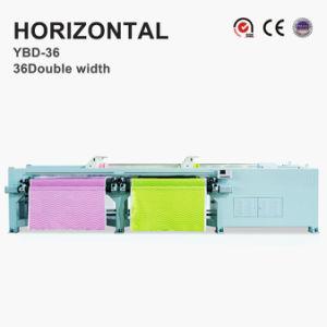 Máquina de bordado Quilting horizontal (largura dupla)