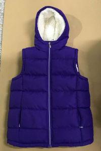 Crianças roupas de inverno de roupas quentes colete jaqueta