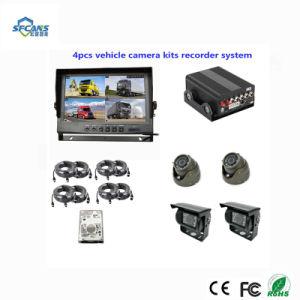 4CH полного автомобильной шины Mobile DVR комплектов для управления парком ПК