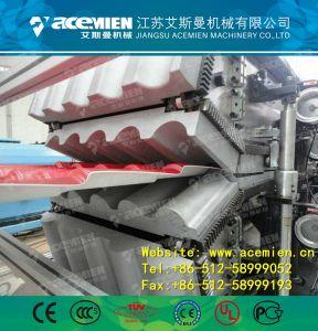 Toit vitré composites en plastique chinois Tile Making Machine/extrudeuse