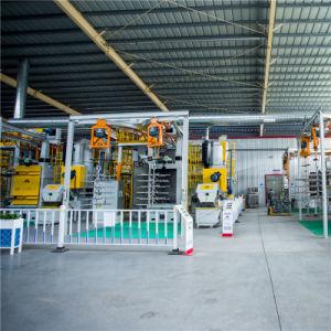 浙江の製造業者の熱い販売のペンキ機械が付いているトラクターの部品のための正常な持ち上がるホックのタイプ砂吹きのキャビネットの工場